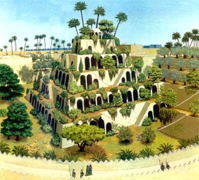 2.Babil'in Asma Bahçeleri