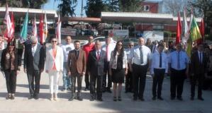 Atatürk Anıtında Gençlik Ateşi Yakıldı