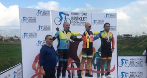 Bisiklette yafa yol yarışı gerçekleştirildi