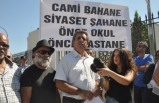 KTÖS, TC CUMHURBAŞKANI ERDOĞAN'IN ZİYARETİNİ PROTESTO İÇİN TC LEFKOŞA BÜYÜKELÇİLİĞİ ÖNÜNDE EYLEM YAPTI