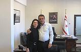 Başbakan Erhürman, Hazar Ergüçlü'yü kabul etti