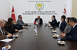 Ataoğlu, Engelli Hizmetleri Koordinasyon Kurulu heyetini kabul etti