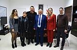 Bakan Özyiğit, tiyatro sanatçısı Hüseyin Köroğlu'nu kabul etti