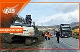 Girne-Değirmenlik (Girne dağ yolu) Yolu'nda bir dizi önlem alındı