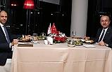Özersay,  Çavuşoğlu ile akşam yemeğinde biraraya geldi