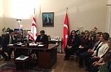 Erhürman, Londra'da Kıbrıs Türk Dernek Başkanları ile bir araya geldi