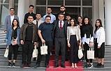 Başbakan Erhürman, Kıbrıs Türk Gençlik Birliği İngiltere heyetini kabul etti