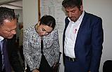 İçişleri Bakanı Baybars, E-Kimlik çerçevesinde Akdoğan Bucağı'nı ziyaret etti