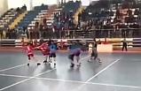 Maçta kavga! Anafartalar Lisesi hentbol takımı darp edildi