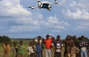 """Afrika'ya ilaç dağıtımında """"drone""""..."""