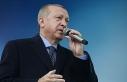 """Erdoğan: """"Daha güçlü bir gelecek için azmimizi..."""