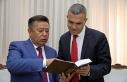 Uluçay, Kırgızistan eski Meclis Başkanını kabul...