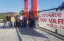 DAÜ Bir-Sen'den greve destek