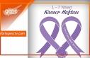 1-7 Nisan Kanser haftası