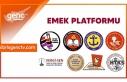 Emek Platformu özel sektör emekçilerinin sorunlarına...