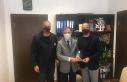 Hentbol Federasyonu'ndan, Mithat Tekçam'a ziyaret...