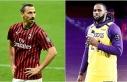 LeBron James ile Zlatan Ibrahimovic arasında polemik...