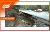 Lefkoşa-Girne ana yolunda selden etkilenen kesimlerin onarımı için ihaleye çıkıldı