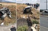Düzova yakınlarında trafik kazası