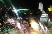 Girne - Alsancak yolunda kaza