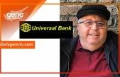 Eşref Vaiz'den Universal Bank'a teşekkür