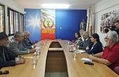 BKP heyeti AKEL'i ziyaret etti