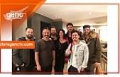 Kıbrıslı sanatçılar Cem Yılmaz'ın davetlisiydi