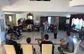 Gençlik Dairesi'nden Kalkanlı Yaşam Evi'nde etkinlik
