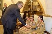 Cumhurbaşkanı,Vadili İlkokulu Mesarya İzcilik Birimi izcilerini ağırladı
