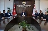Oğuz, Türkiye'den Gübretaş Genel Müdürü İbrahim Yumaklı ve beraberindeki heyeti kabul etti