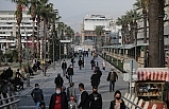 Vakaların arttığı İzmir'in işlek noktalarında yoğunluk