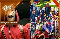 Limasol Karnavalı'na 'La Casa De Papel' yasağı