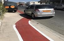 Limasol'daki bisiklet yolu tartışmalara neden oldu