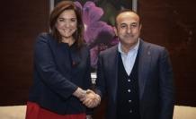Çavuşoğlu, eski Yunanistan Dışişleri Bakanı Dora Bakoyannis ile görüştü