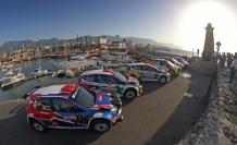 """Kuzey Kıbrıs Rallisi"""" -Girne Yat Limanı'ndan  start aldı"""