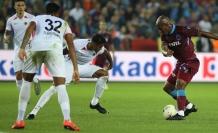 Trabzonspor sahasında berabere kaldı