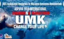 Uluslararası yüzme maratonu yapıldı