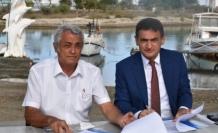 Arazi Gazimağusa Balıkçılık ve Su Ürünleri Ltd. Kooperatifi'nin kullanımına açıldı