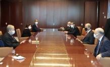 """Tatar: """"İki devletli çözüm önerimizi yeniden vurguladım"""""""