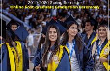 DAÜ mezuniyet töreni online yapıldı