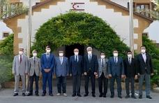 Tatar Din İşleri Başkanlığı ve ilçe temsilciliği yönetimini kabul etti