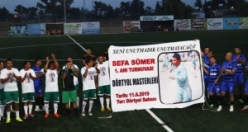Sefa Sümer Anı Turnuvası yapıldı