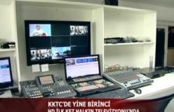 KKTC'DE YİNE BİRİNCİ- HD İLK KEZ HALKIN TELEVİZYONU'NDA