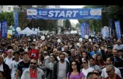 Maraton heyecanı Kıbrıs Genç Tv'de yaşandı