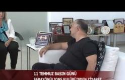 SARAYÖNÜ LIONS KULÜBÜ'NDEN GENÇ TV'YE  ZİYARET