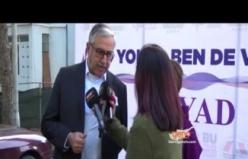Yürüyüşe katılanlar Kıbrıs Genç TV'ye konuştu
