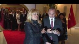 Cumhurbaşkanı Mustafa Akıncı'dan Resepsiyon