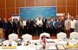 Türk Dünyası Belediyeler Birliği toplantısı...