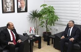 Atakan, Kayseri Belediye Başkanını kabul etti