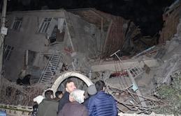 Deprem sonrası 35 artçı sarsıntı meydana geldi